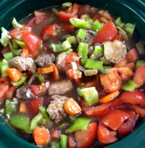 Beef Stew Before It's Cooked!