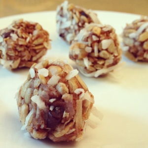 Sunflower Coconut Balls