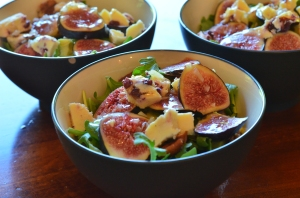 Arugula Fig Salad