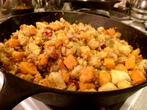 Apple Pancetta Stuffing