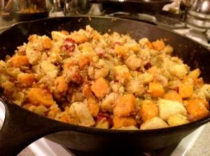 Apple Pancetta Stuffing