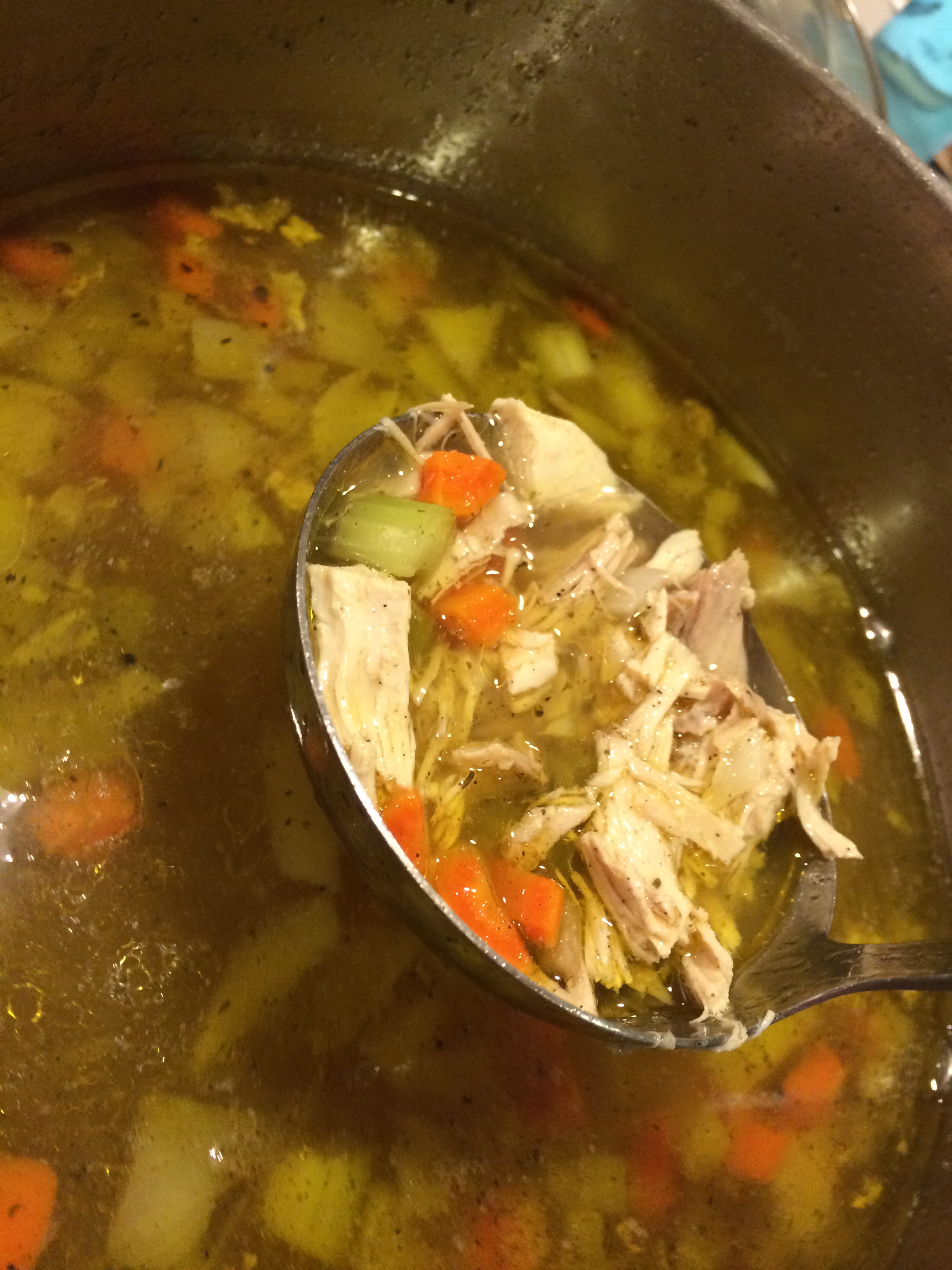 Dads homemade chicken soup paleo healthy recipes for food lovers homemade chicken soup forumfinder Choice Image